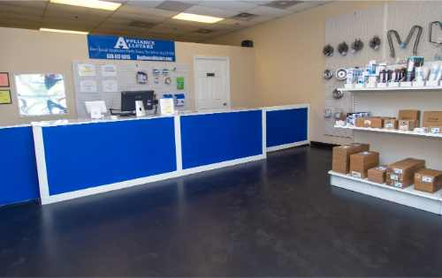 Appliance parts and appliance repair Hampton GA and surrounding South Atlanta area